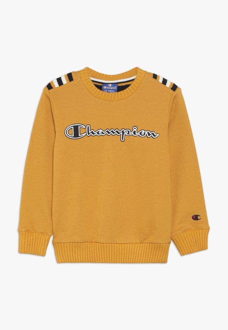 Champion - ROCHESTER VARSITY CREWNECK  - Sweatshirt - yellow