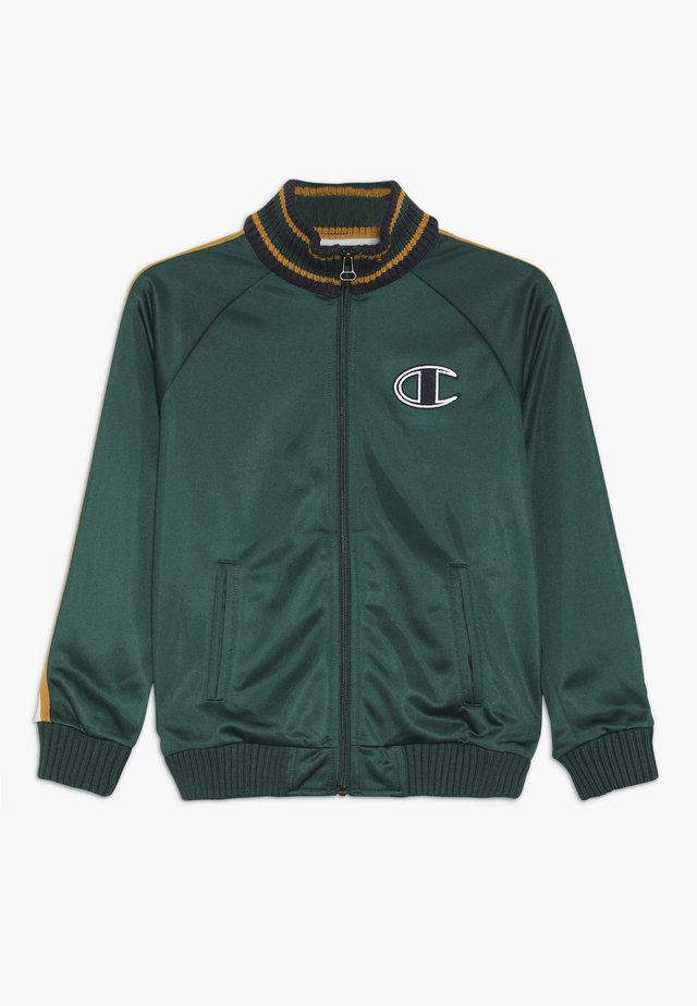 ROCHESTER VARSITY FULL ZIP TOP - Trainingsjacke - dark green