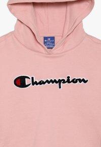 Champion - ROCHESTER CHAMPION LOGO HOODED - Mikina skapucí - light pink - 4