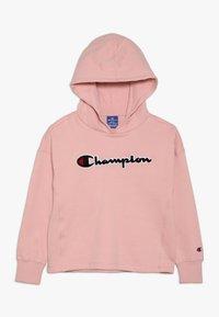 Champion - ROCHESTER CHAMPION LOGO HOODED - Mikina skapucí - light pink - 0