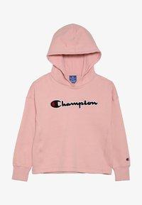 Champion - ROCHESTER CHAMPION LOGO HOODED - Mikina skapucí - light pink - 3