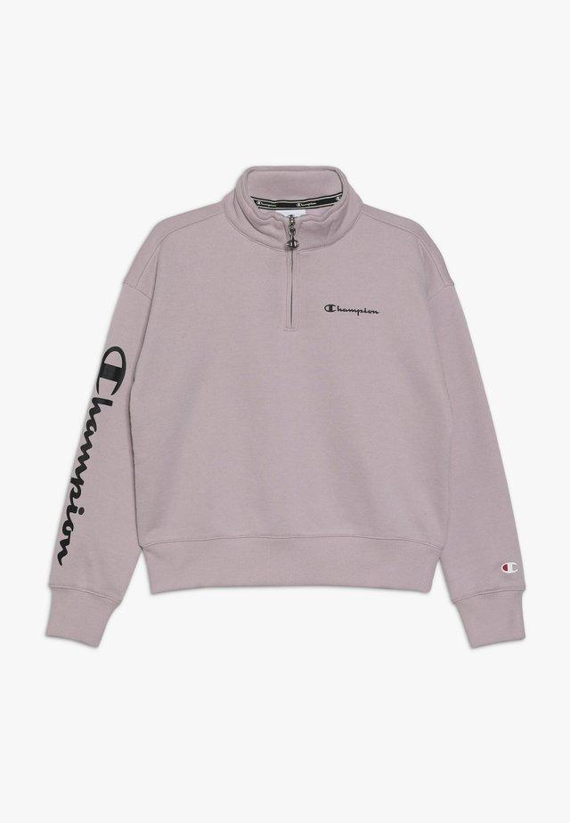 AMERICAN CLASSICS HALF ZIP - Sweatshirt - lilac