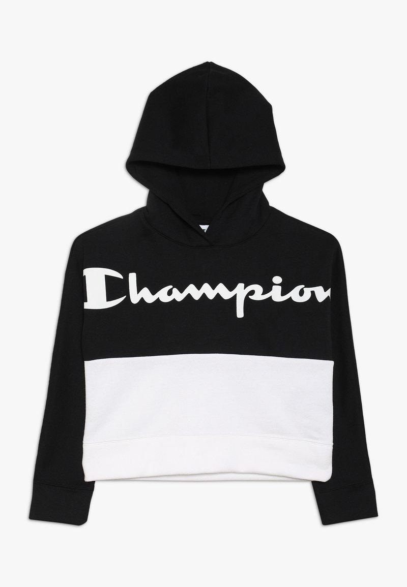 Champion - BASIC BLOCK HOODED  - Hoodie - black