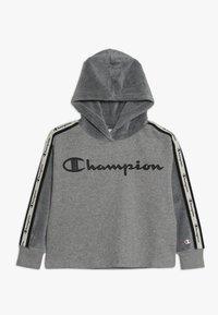 Champion - BRAND REVOLUTION HOODED - Hoodie - oxi grey melange - 0