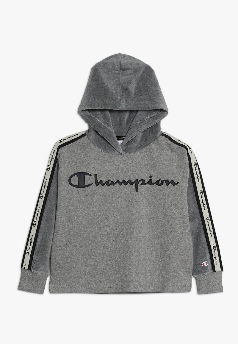 Champion - BRAND REVOLUTION HOODED - Hoodie - oxi grey melange