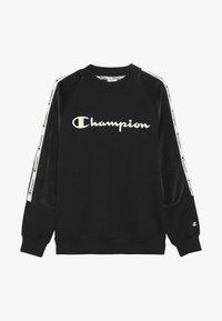 Champion - BRAND REVOLUTION CREWNECK - Mikina - black - 3