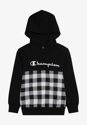 CHAMPION X ZALANDO HOODED - Huppari - new black/wihte