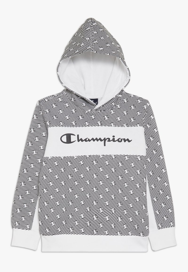 Champion - CHAMPION X ZALANDO HOODED - Luvtröja - white