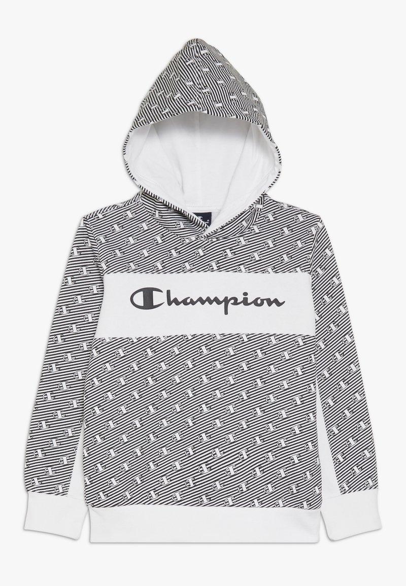 Champion - CHAMPION X ZALANDO HOODED - Huppari - white