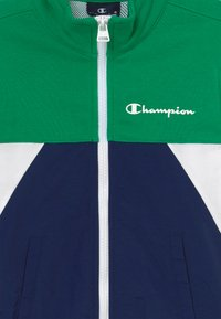 Champion - LEGACY 90'S BLOCK FULL ZIP  - Sportovní bunda - green/blue - 3