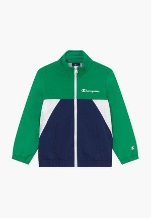 LEGACY 90'S BLOCK FULL ZIP  - Training jacket - green/blue
