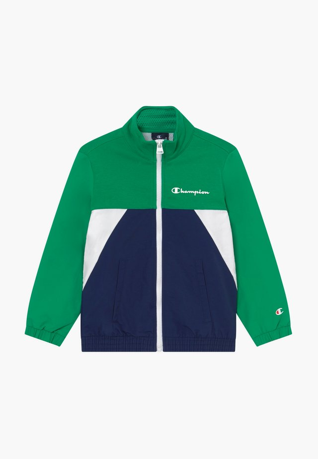 LEGACY 90'S BLOCK FULL ZIP  - Träningsjacka - green/blue