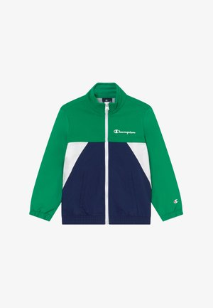 LEGACY 90'S BLOCK FULL ZIP  - Kurtka sportowa - green/blue