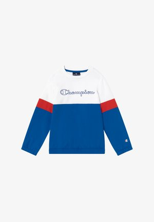 LEGACY BLOCK  CREWNECK - Sweatshirt - royal blue/white