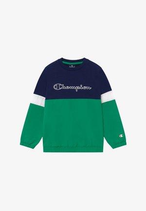 LEGACY BLOCK  CREWNECK - Sudadera - green/blue