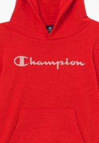 Champion - LEGACY AMERICAN CLASSICS HOODED  - Bluza z kapturem - red - 3