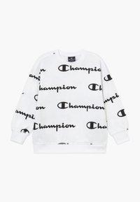 Champion - LEGACY AMERICAN CLASSICS - Felpa - white/black - 0