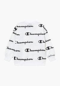 Champion - LEGACY AMERICAN CLASSICS - Felpa - white/black - 1