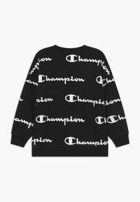 Champion - LEGACY AMERICAN CLASSICS - Felpa - black/white - 1
