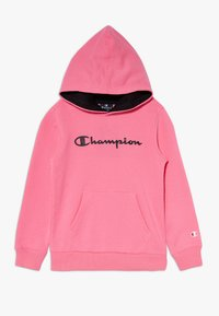 Champion - LEGACY AMERICAN CLASSICS FLUO HOODED - Sweat à capuche - neon pink - 0