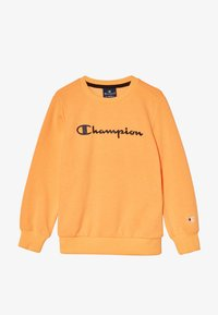 Champion - LEGACY AMERICAN CLASSICS FLUO CREWNECK  - Sudadera - orange - 3