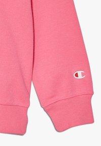 Champion - LEGACY AMERICAN CLASSICS FLUO CREWNECK  - Sweater - neon pink - 4