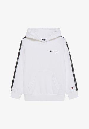 LEGACY AMERICAN TAPE HOODED - Bluza z kapturem - white