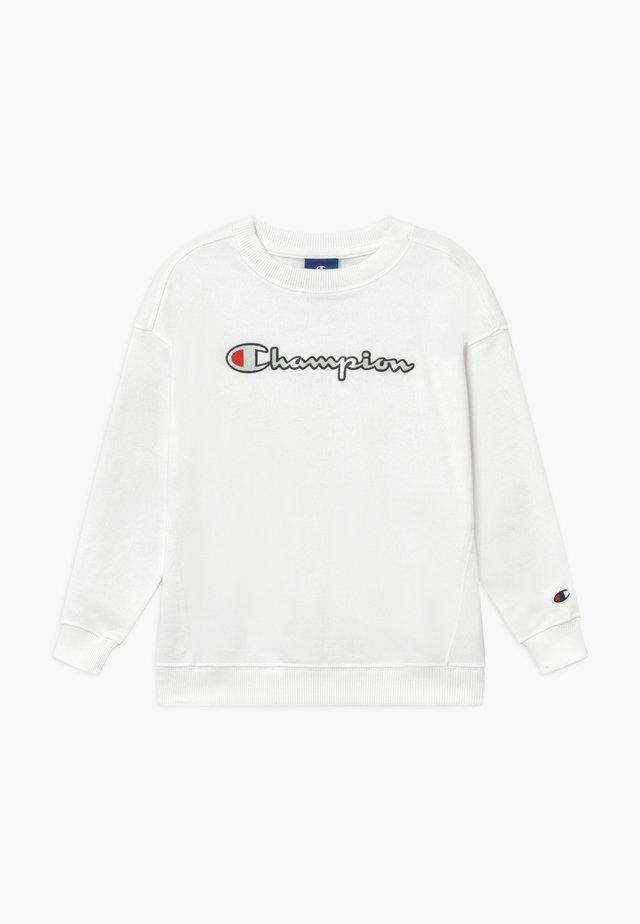 ROCHESTER CHAMPION LOGO CREWNECK  - Collegepaita - white