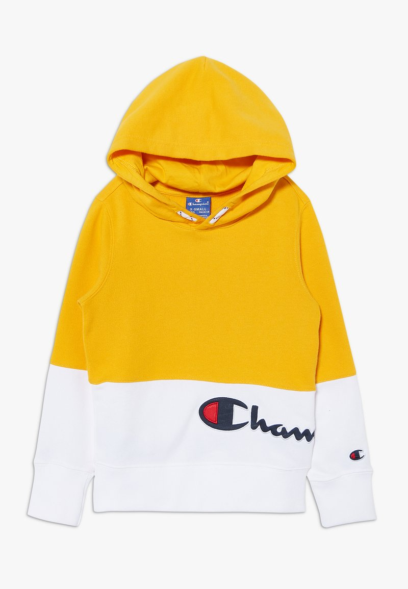 Champion - ROCHESTER LOGO HOODED  - Bluza z kapturem - yellow