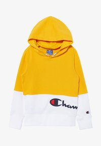 Champion - ROCHESTER LOGO HOODED  - Bluza z kapturem - yellow - 3