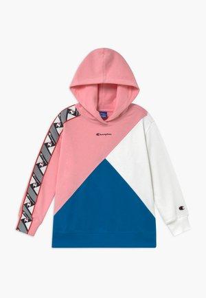 ROCHESTER BRAND MANIFESTO HOODED - Sweat à capuche - light pink/royal blue