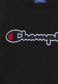 Champion - ROCHESTER LOGO CREWNECK - Sudadera - black - 3