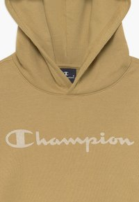 Champion - LEGACY AMERICAN CLASSICS HOODED - Jersey con capucha - sand - 3