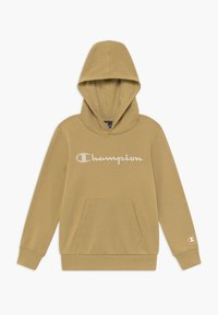 Champion - LEGACY AMERICAN CLASSICS HOODED - Jersey con capucha - sand - 0