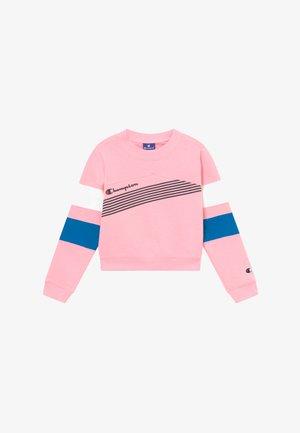 ROCHESTER BRAND MANIFESTO CREWNECK - Sweatshirt - light pink/royal blue