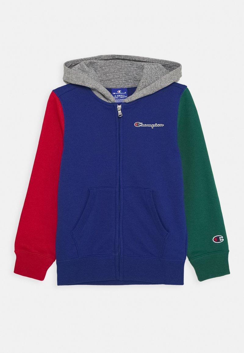 Champion - ROCHESTER TEAM HOODED FULL ZIP - veste en sweat zippée - multi colour