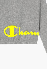 Champion - LEGACY LIGHT UP LOGO CREWNECK - Mikina - mottled grey - 3