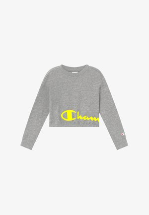 LEGACY LIGHT UP LOGO CREWNECK - Sudadera - mottled grey