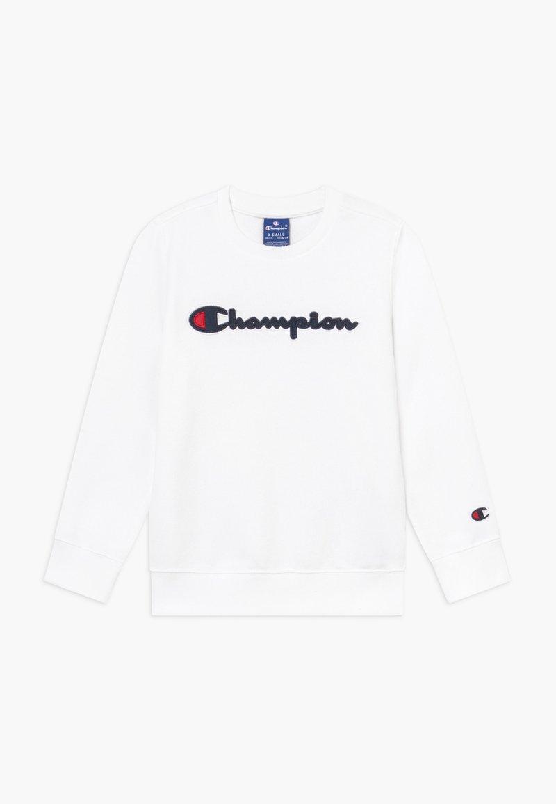 Champion - ROCHESTER CHAMPION LOGO CREWNECK - Sweatshirt - white