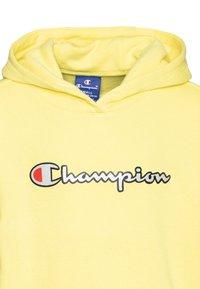 Champion - ROCHESTER LOGO HOODED  - Huppari - yellow - 2