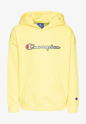 ROCHESTER LOGO HOODED  - Bluza z kapturem - yellow