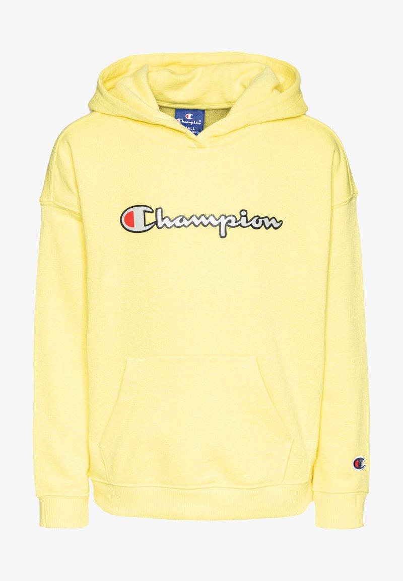 Champion - ROCHESTER LOGO HOODED  - Huppari - yellow