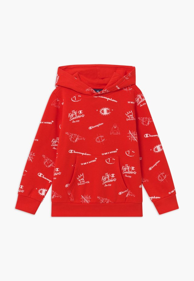 LEGACY AMERICAN CLASSICS HOODED - Hættetrøjer - red