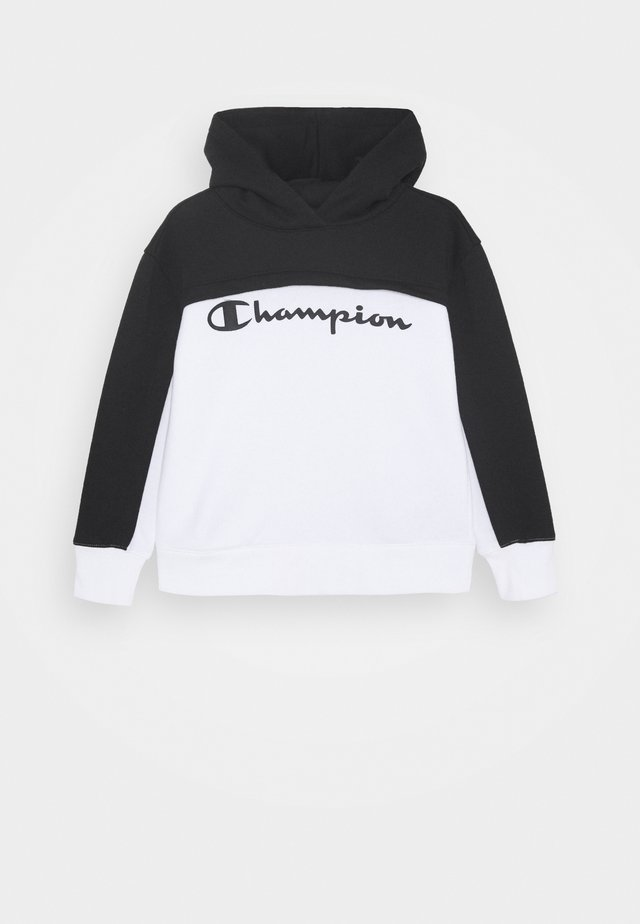 LEGACY BREAKING RULES HOODED - Luvtröja - white