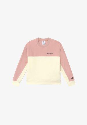 LEGACY AMERICAN CLASSICS CREWNECK - Fleecová mikina - light pink