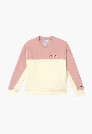 LEGACY AMERICAN CLASSICS CREWNECK - Fleece trui - light pink