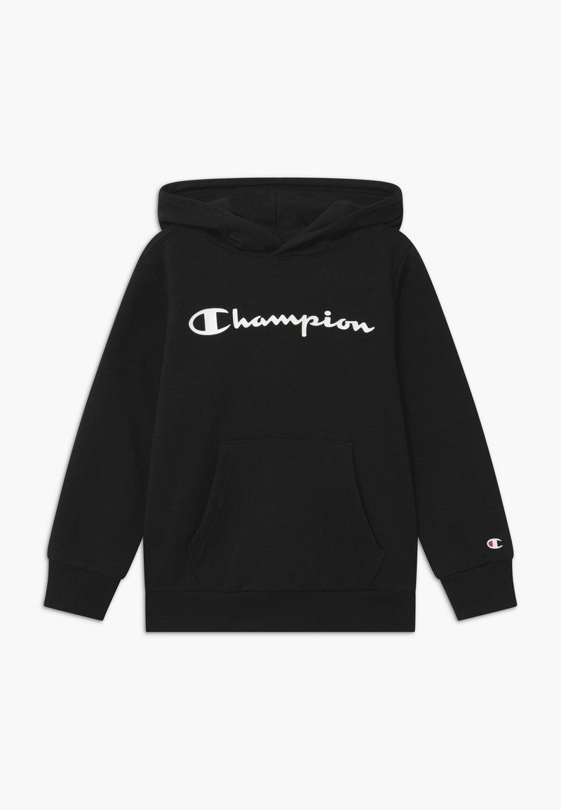 Champion - LEGACY AMERICAN CLASSICS HOODED - Mikina skapucí - black