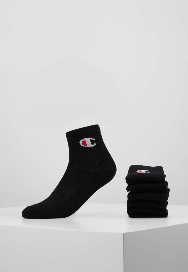 CREW SOCKS 6 PACK - Sportssokker - black