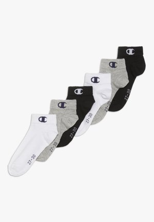 QUARTER 6 PACK - Calcetines de deporte - mottled grey/white/black