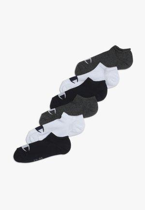 SNEAKER 6 PACK - Sports socks - dark blue/white/mottled grey